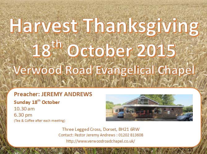 Please join with us for Harvest Thanksgiving