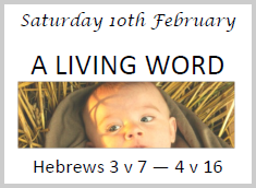 God has spoken a Living Word - 10 Feb 2018 2.00pm