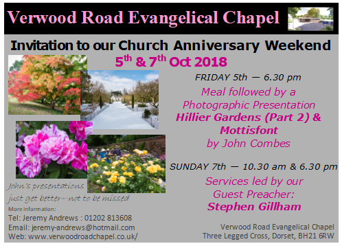 Church anniversary invitation card