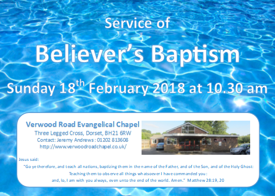Baptismal service invitation