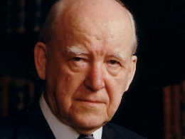 Photograph of Dr Martyn Lloyd-Jones
